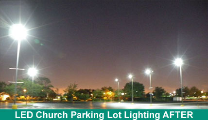 Church Parking Lot Light
