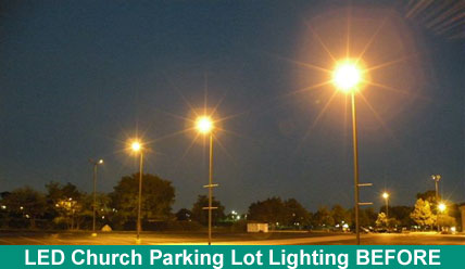 Chruch Parking Lot Light